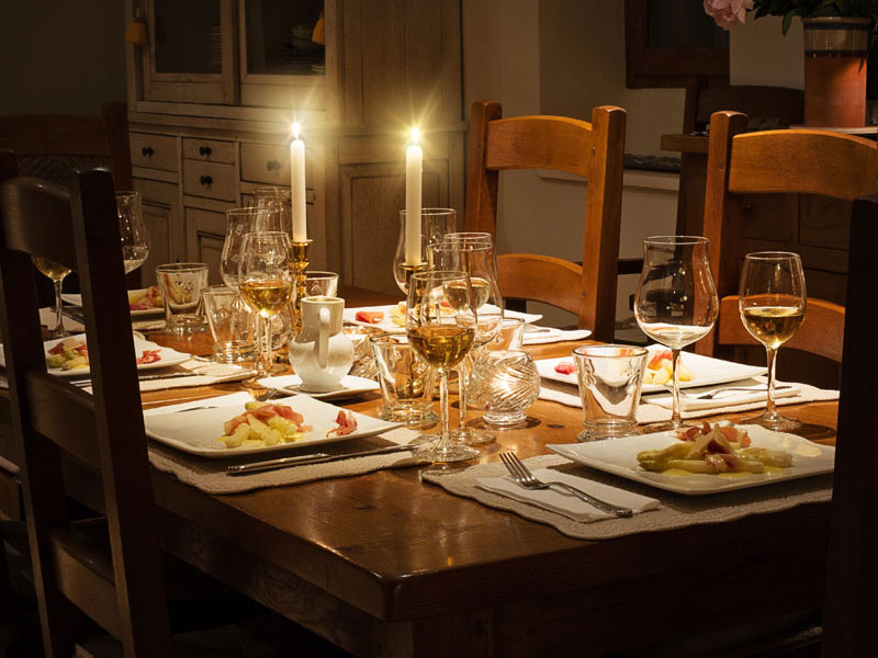 dining near lytheside cottage